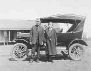Walter and Dora Smith Wedding Day