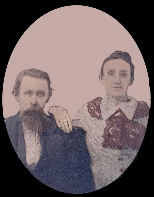 Great-grandparents, James W. Gray and Sara Calhoun Gray
