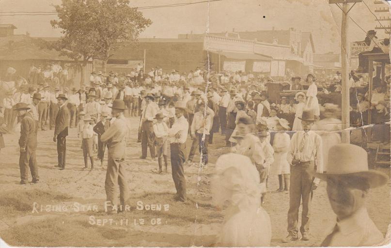 Rising Star Fair, 1908