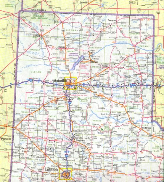 Texas Panhandle Map Maps Texas Panhandle Map