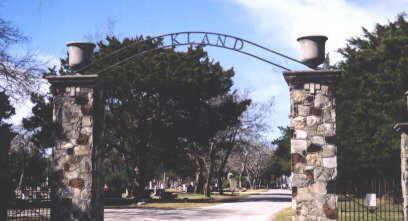 Description: Oakland Cemetery, Navasota
