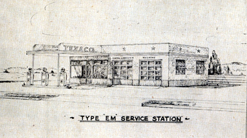 Bankston Texaco, 1949 Malakoff, Henderson Co  TX