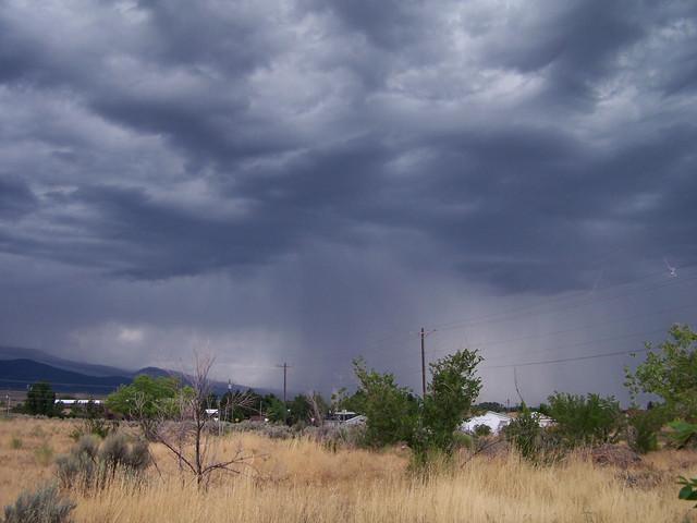storm over Mt. Pleasant