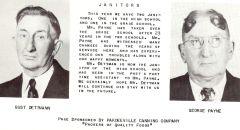 Gust Dettman and George Payne - 1950