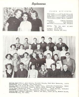 Paradeeville Sophomores, 1950